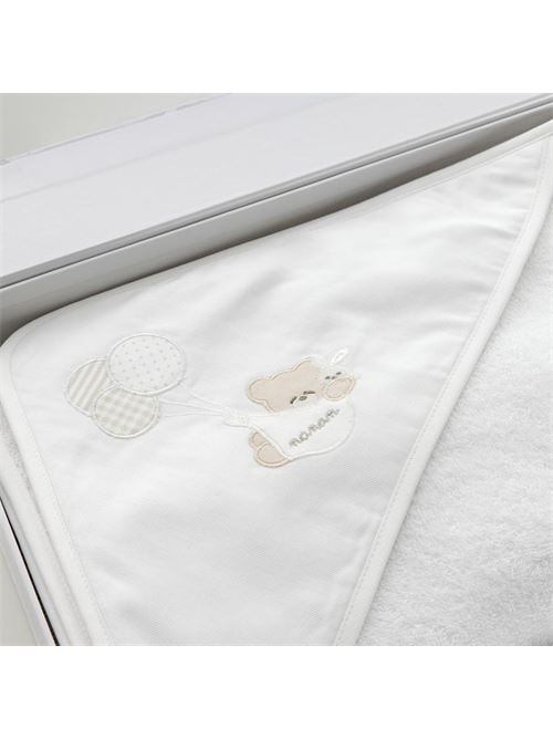 Accappatoio Bianco Palloncino NANAN | Accappatoio nascita | 50230B