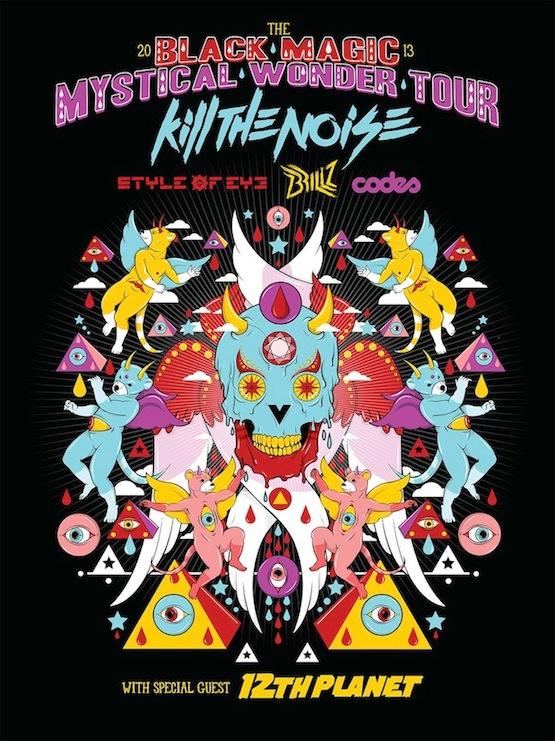 OWSLA Kill The Noise //BLACK MAGIC TOUR
