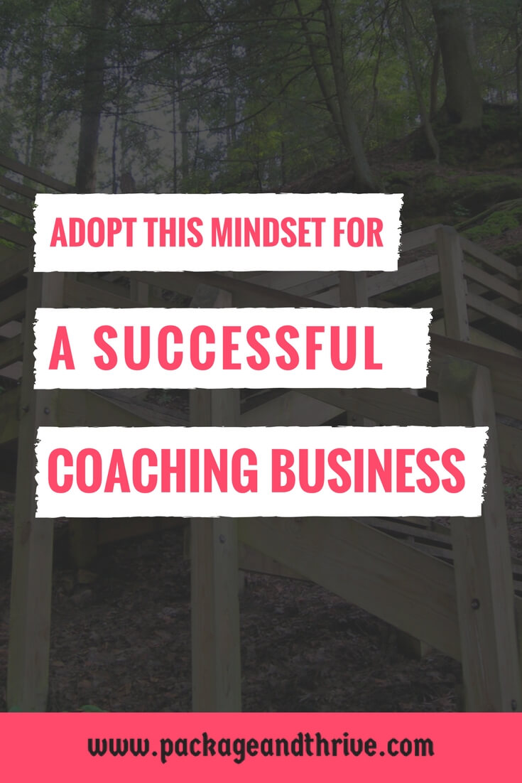 Mindset for successful coaching business