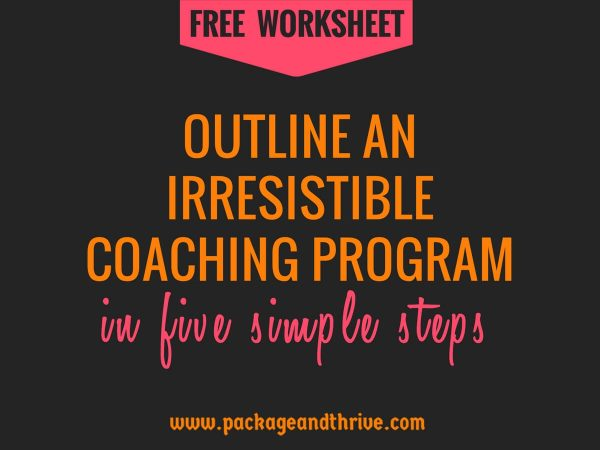Outline attractive coaching programs
