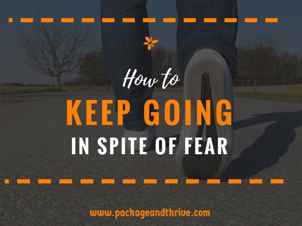 """Have you been holding yourself back from doing something to grow your health, wellness or spiritual coaching business until you're """"courageous enough?"""" Don't wait until you have the courage. Do it in spite of the fear. Courage will come as a result of your action."""