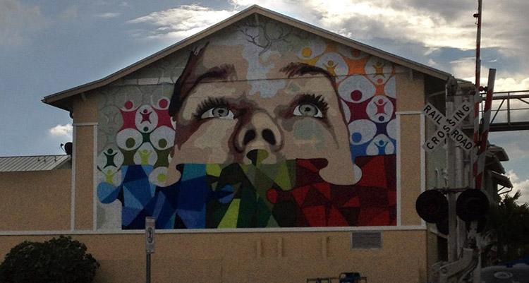 Eduardo Mendieta Mural Lake Worth FL