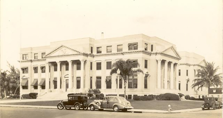 West Palm Beach Courthouse 1920s