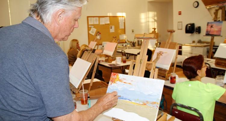 Creative Arts School - Canvas & Cocktails