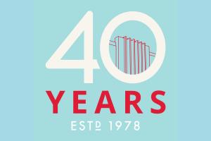 Cultural Council 40th Anniversary logo
