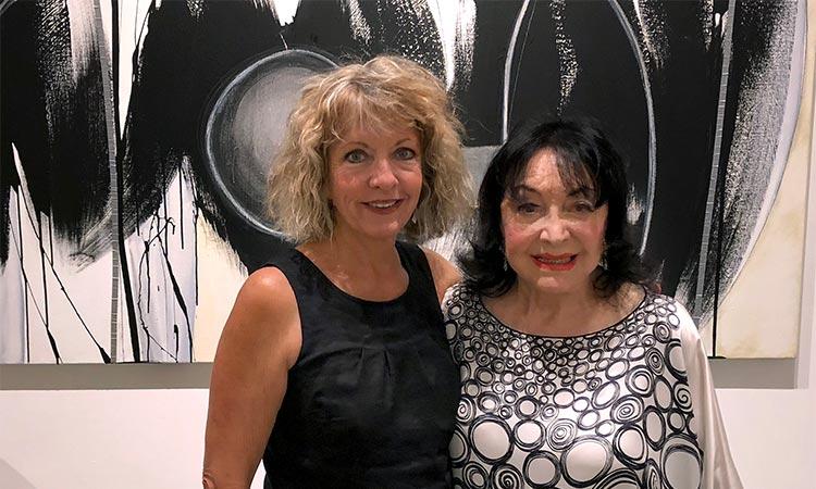 Debra Yates and Dina Baker