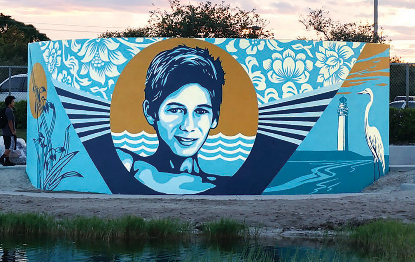 Shepard Fairey Jupiter Community High School