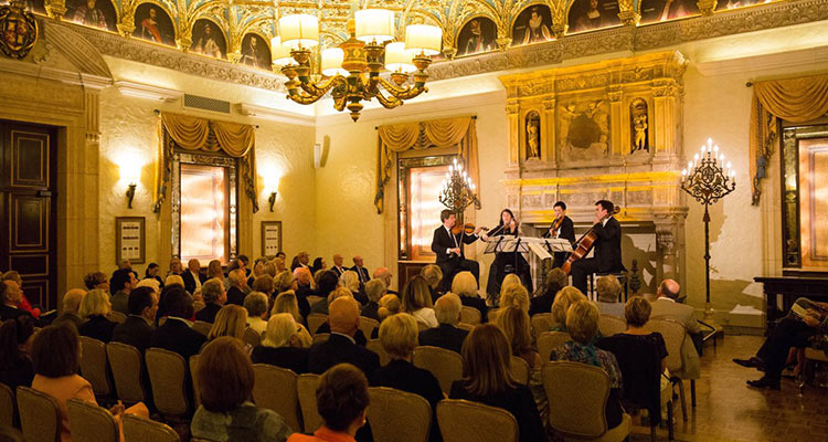Chamber Music Society Palm Beach Ehnes Quartet The Breakers Gold Room