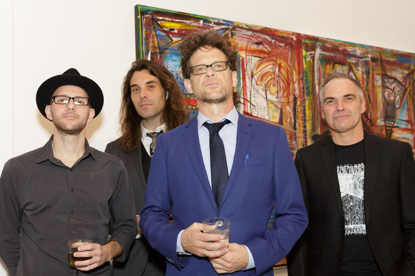 Jason Newsted and band - RaWk exhibition opening - Cultural Council of Palm Beach County