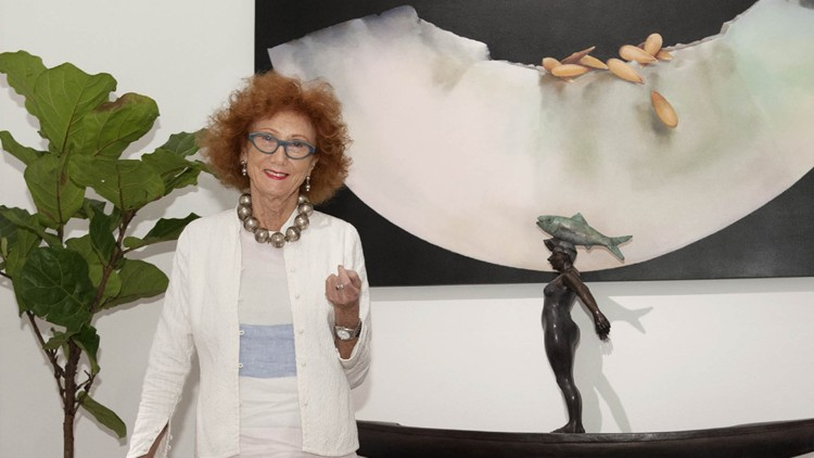 Jennifer Garrigues - Art & Decor - Palm Beach Daily News - photo by Meghan McCarthy
