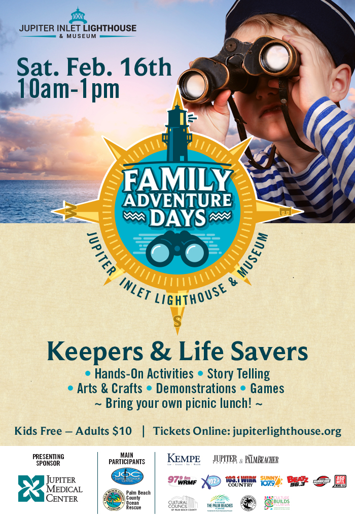 Family Adventure Day at Jupiter Inlet Lighthouse and Museum