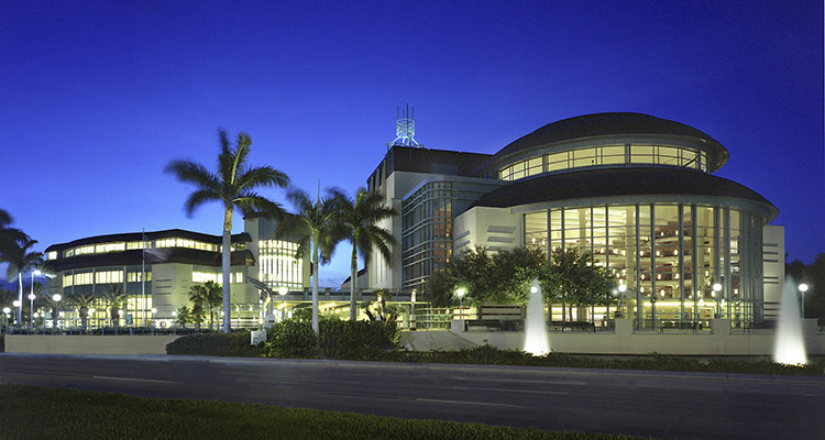 Kravis Center for the Performing Arts Exterior