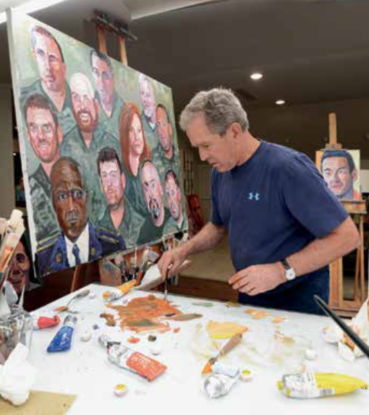 Portraits in Courage Exhibition: A Commander in Chief's Tribute to America's Warriors