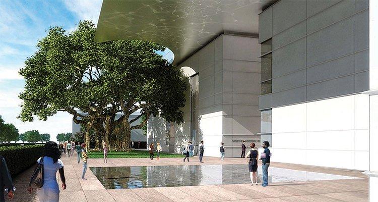 art&culture Fall 2015 - Norton Museum of Art rendering