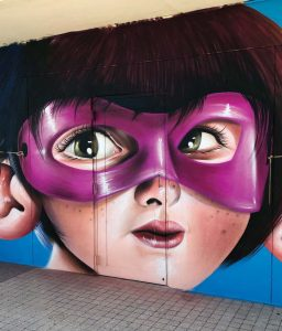 Sipros Mural Canvas Lake Worth 2017