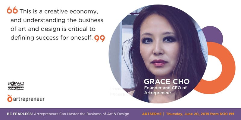 artrepreneur - grace cho - artserve