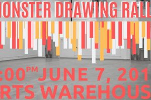 arts warehouse - monster drawing rally