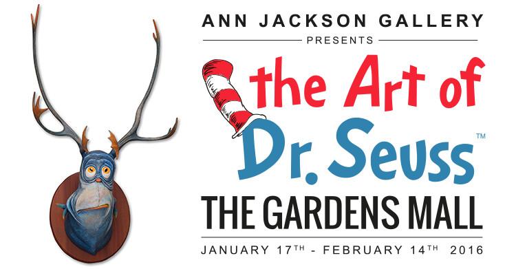The Art of Dr Seuss - The Gardens Mall