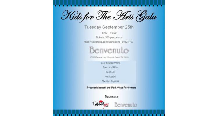 TalentJoe Kids for the Arts Gala