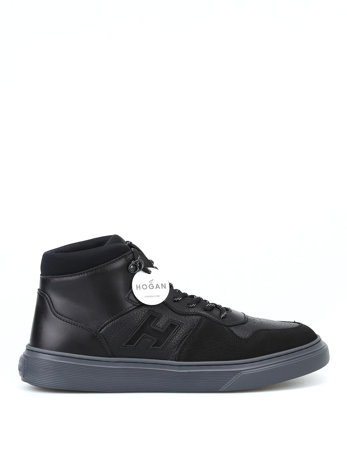 plus récent dcb2a b1cf6 H365 black basket hi-top sneakers