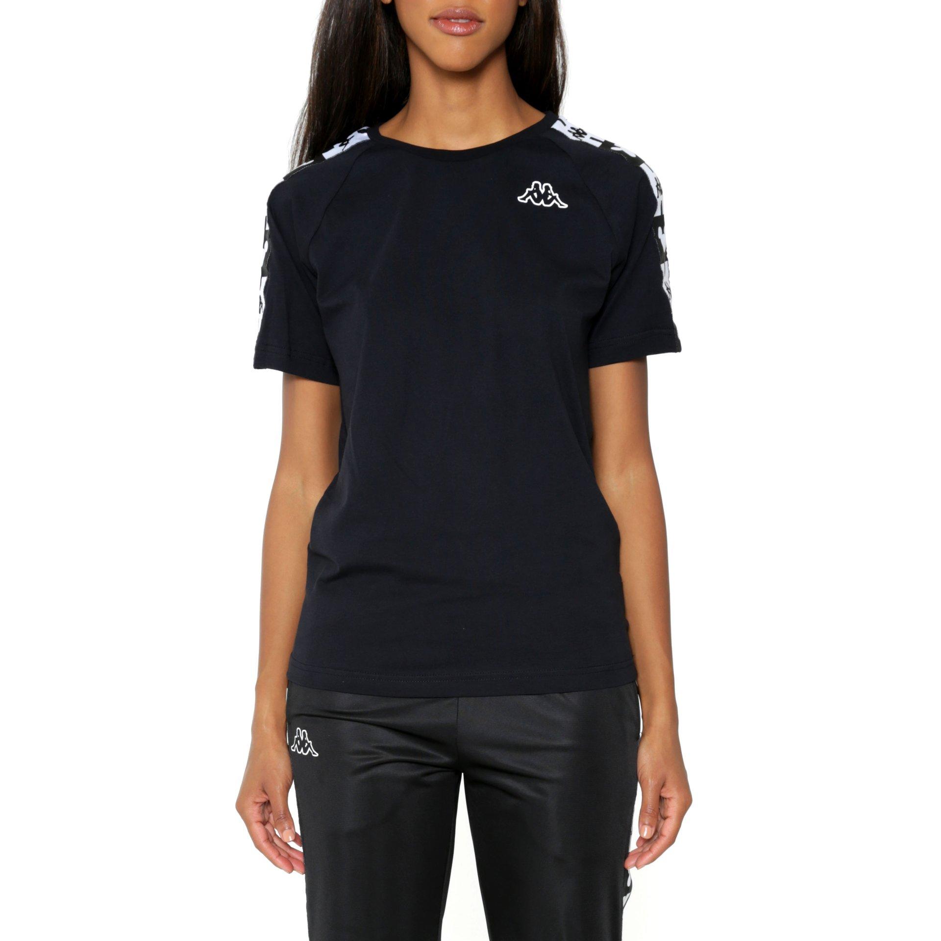 T-shirt nera KAPPA   8   304IRU0911