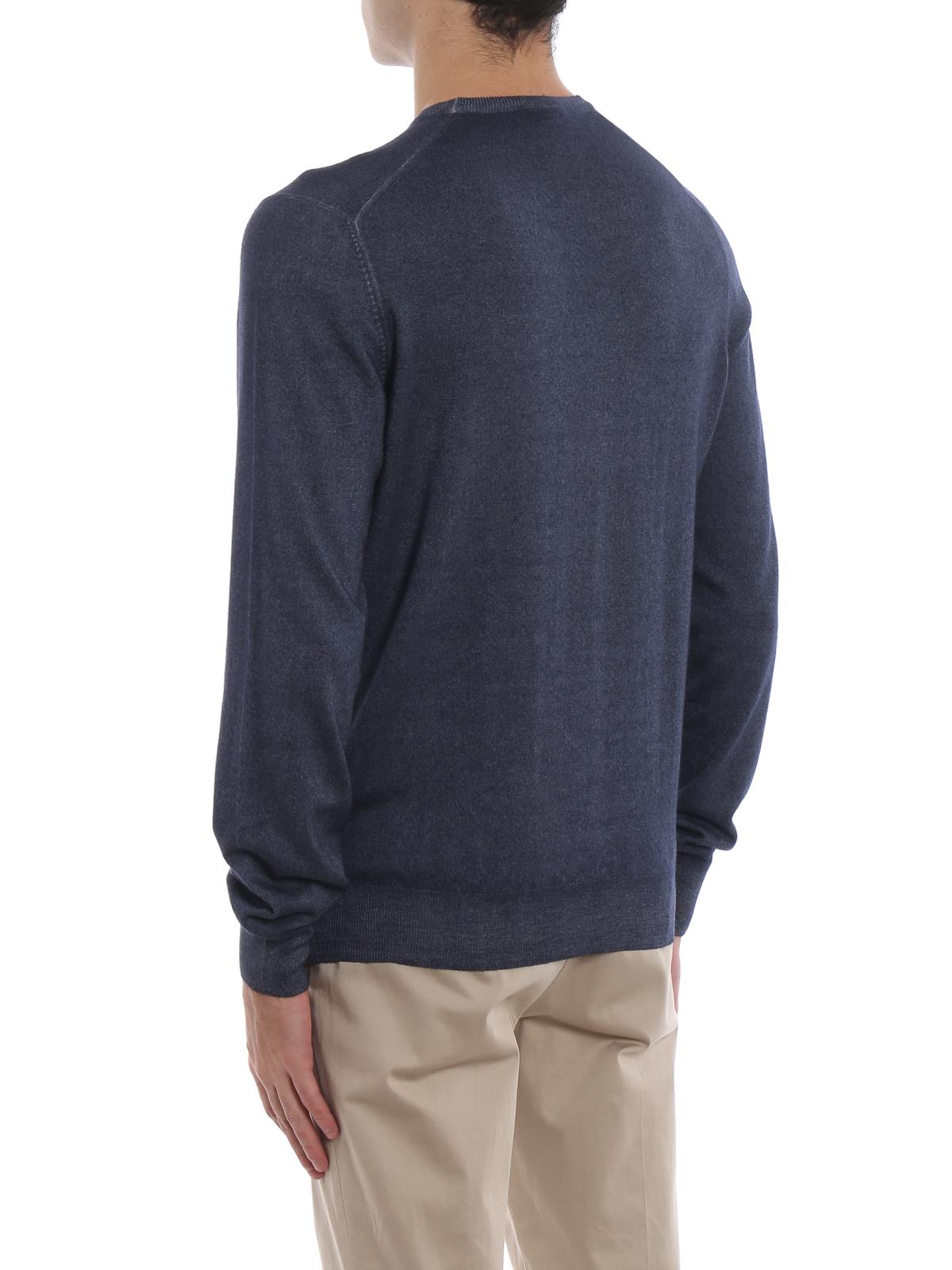Cashmere crew neck basic sweater PAOLO FIORILLO CAPRI   7   4518826290989