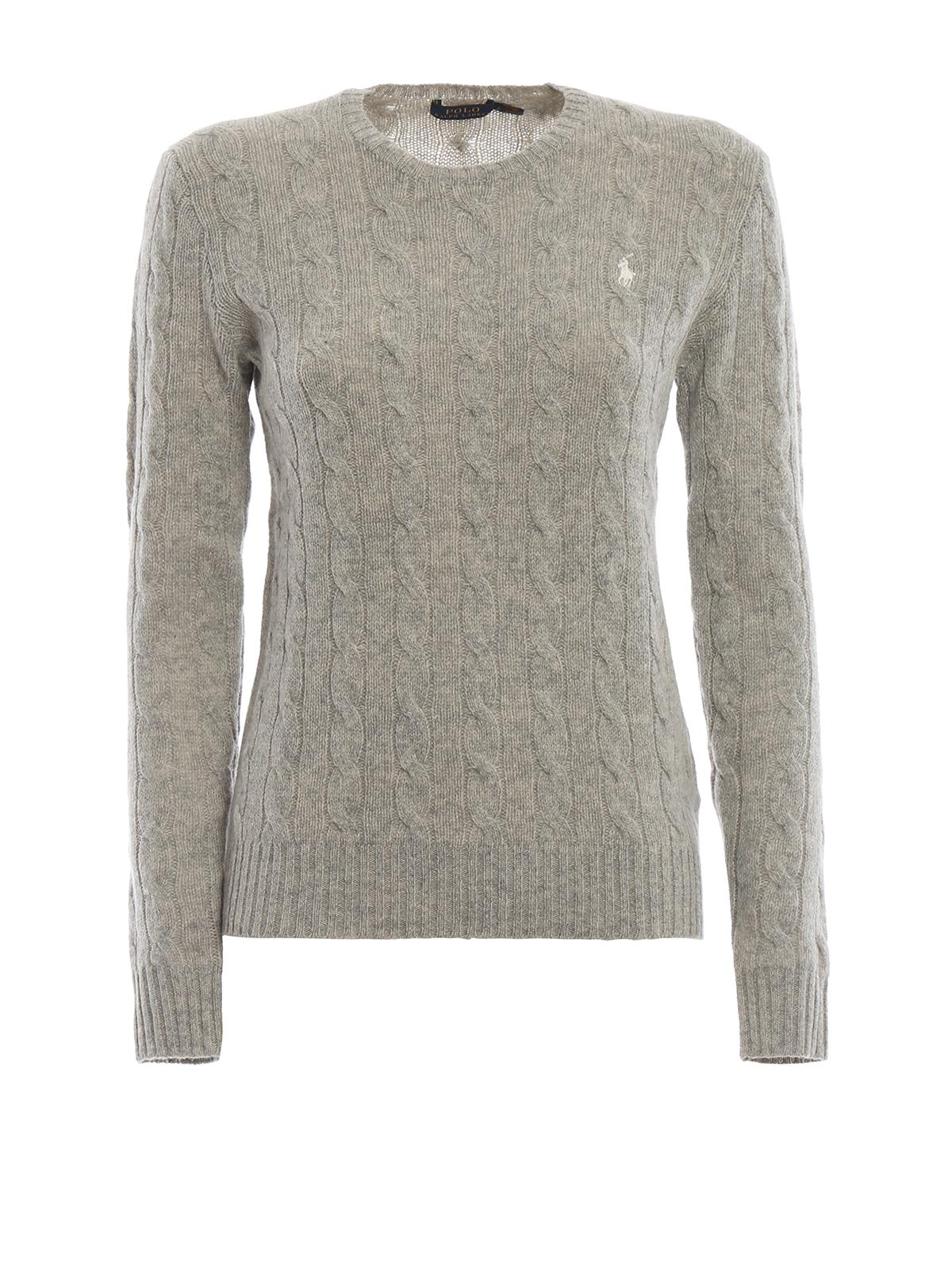 f6a2f8e72f158 Cable knit merino and cashmere sweater - POLO RALPH LAUREN - Paolo Fiorillo