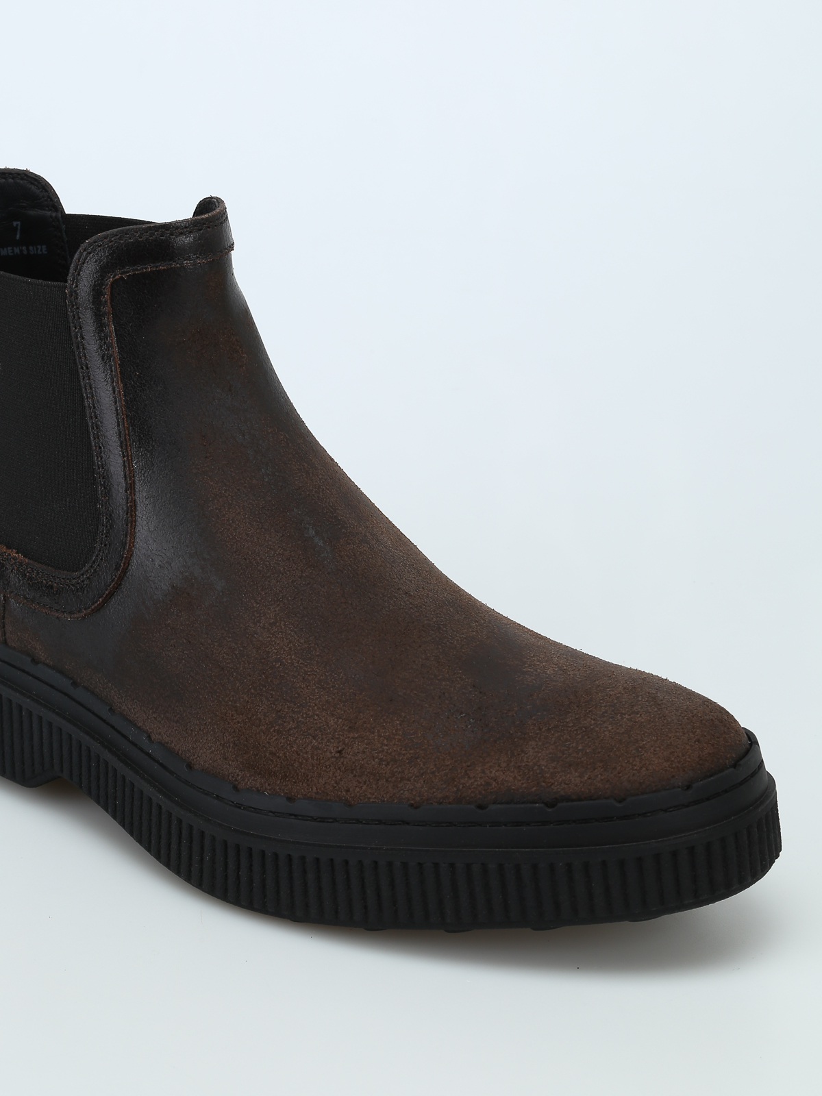Used effect leather Chelsea boots TOD