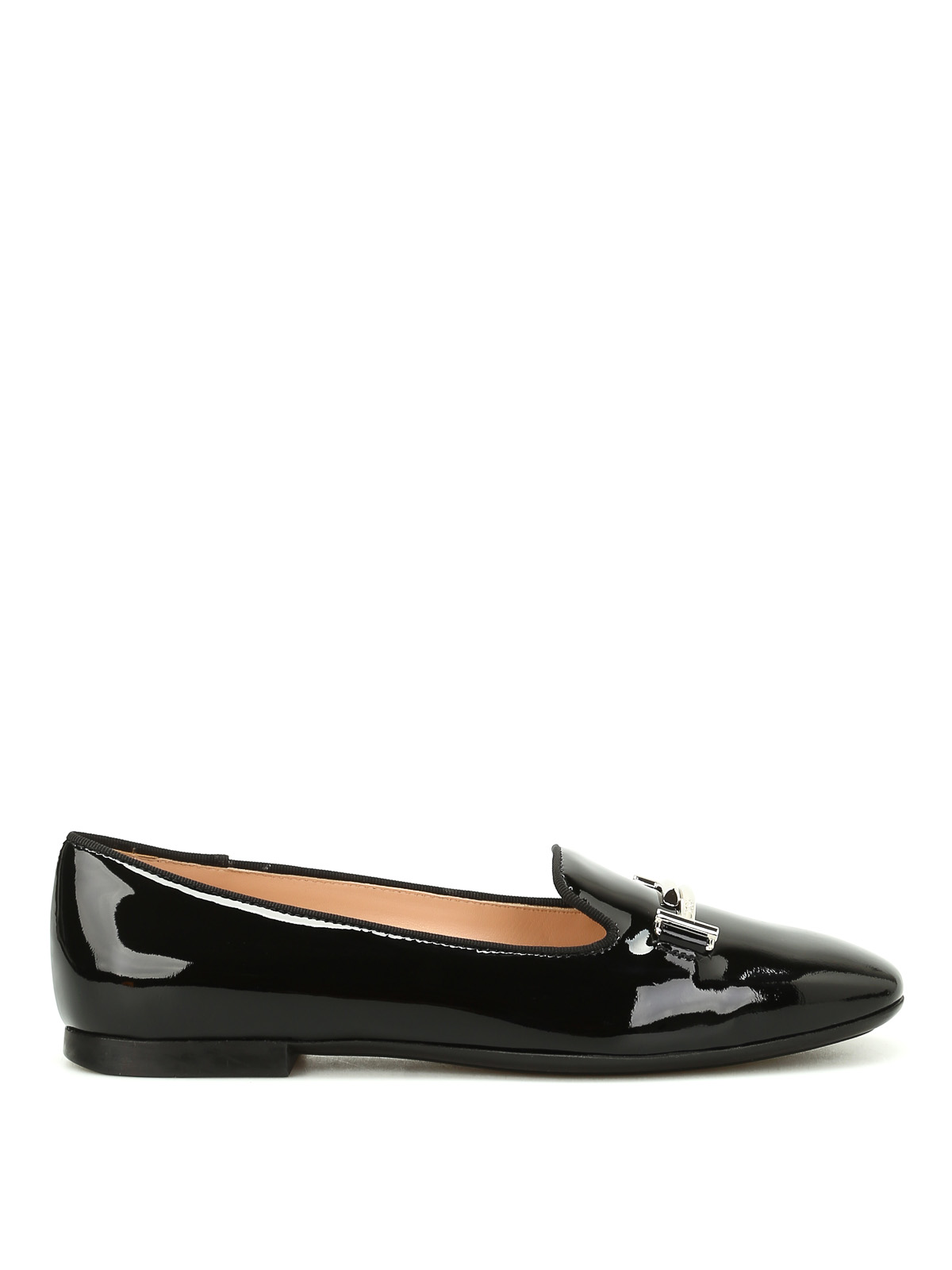 dc69ac255 Double T patent leather slippers - TOD'S - Paolo Fiorillo