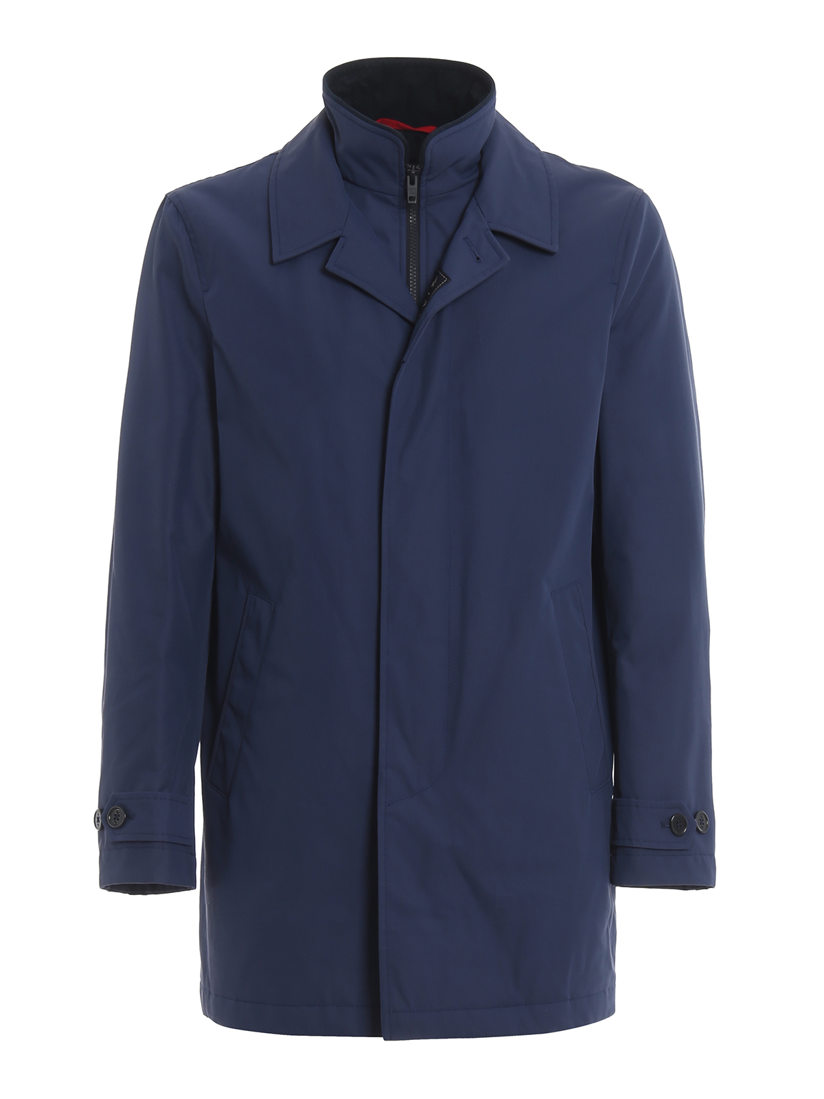 Blue Morning Coat with double front