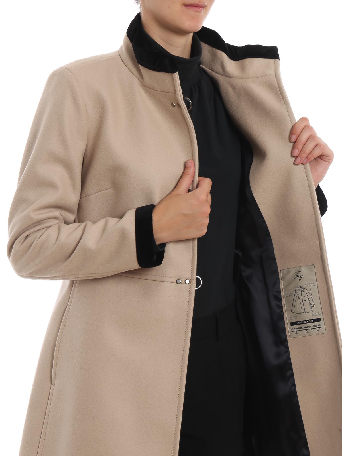 Ivory Virginia three-hook coat FAY | 17 | NAW50394000RCPC002