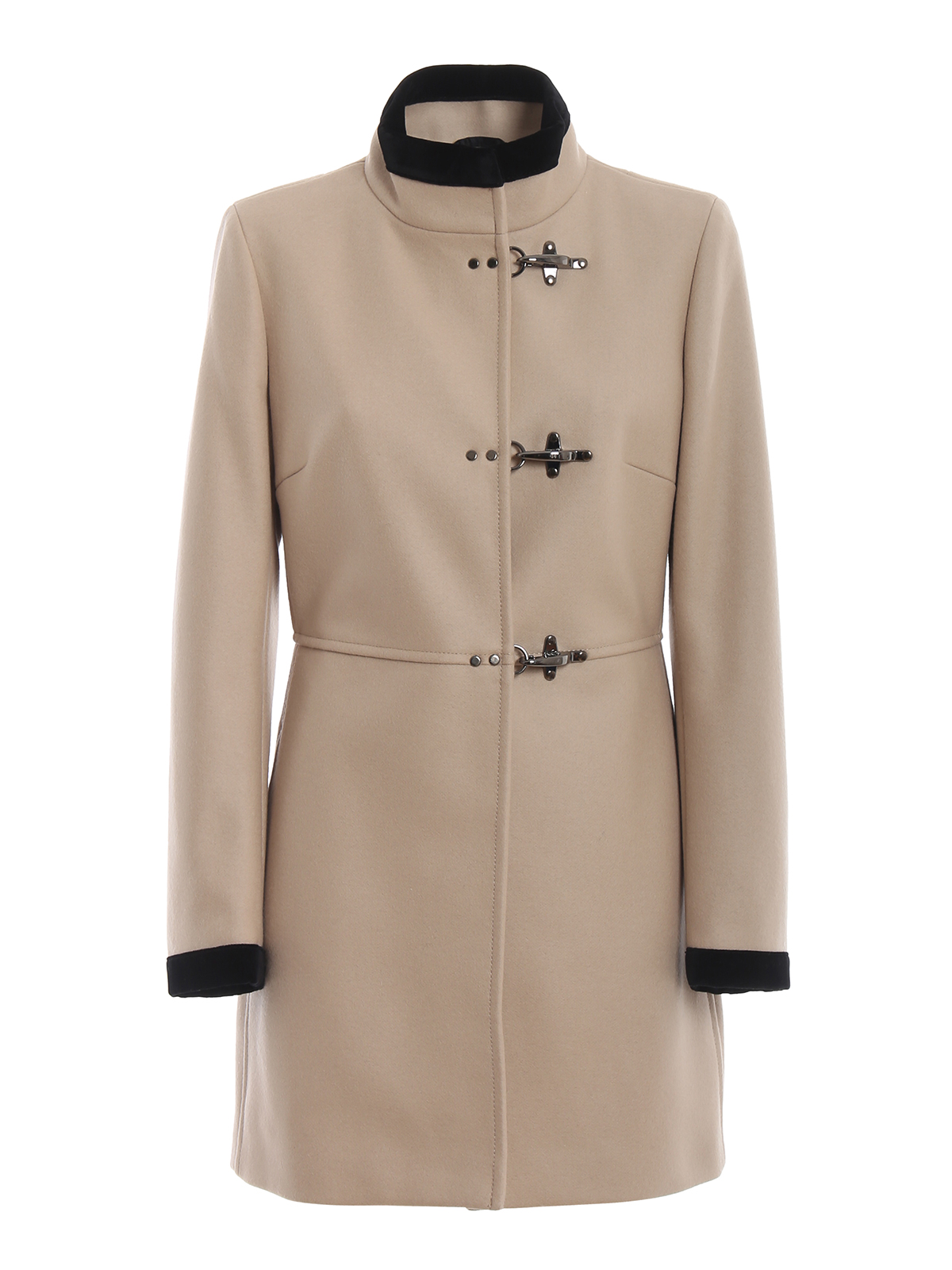 Ivory Virginia three-hook coat
