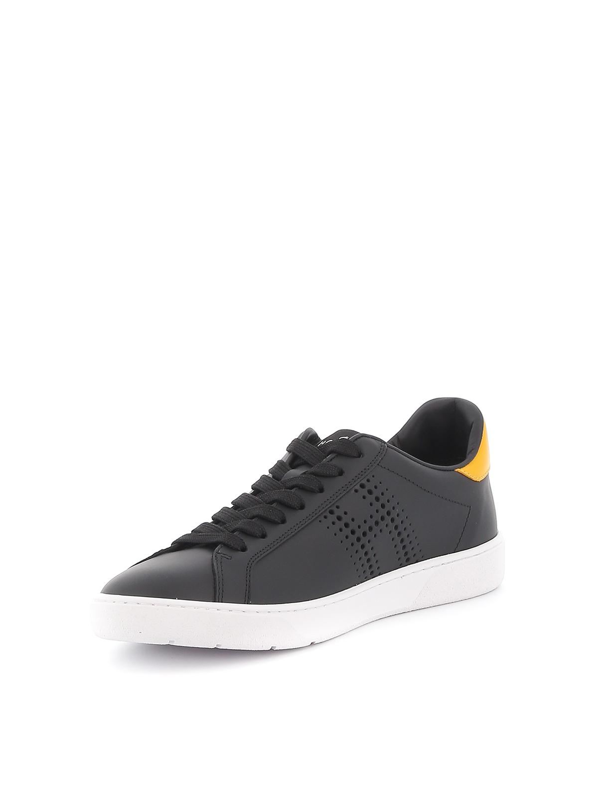 H327 matte leather sneakers HOGAN | 120000001 | HXM3270BT10M0L08M2