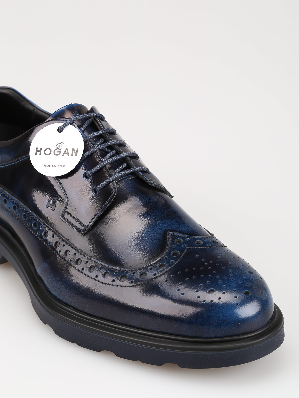 Route H393 Derby shoes HOGAN | 12 | HXM3930BX606Q6U607