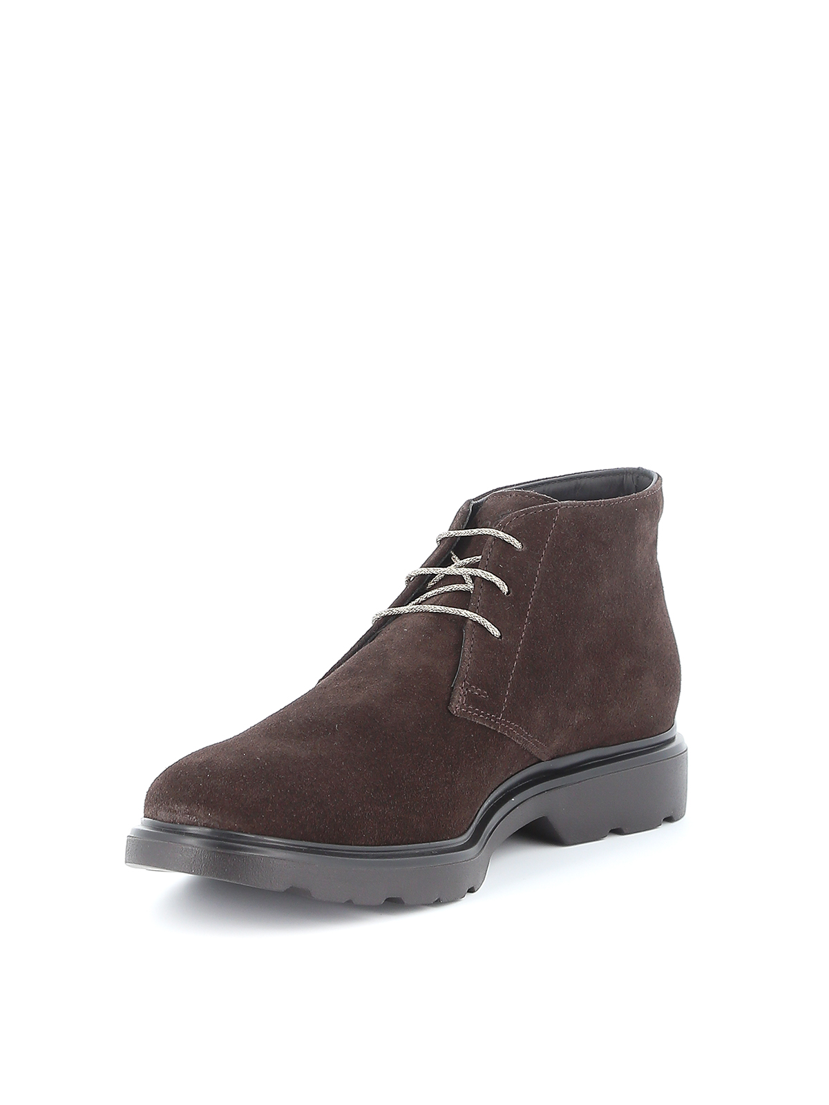 H393 Derby desert boots HOGAN   5032238   HXM3930W352HG0S807