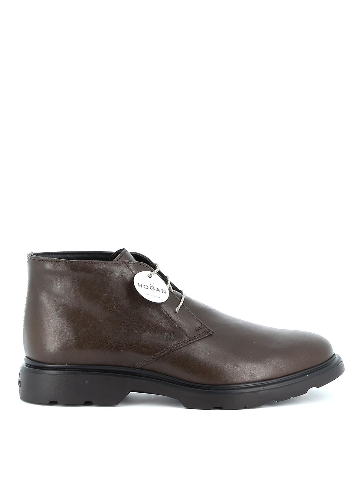 H393 Derby desert boots HOGAN | 12 | HXM3930W352LDVS807