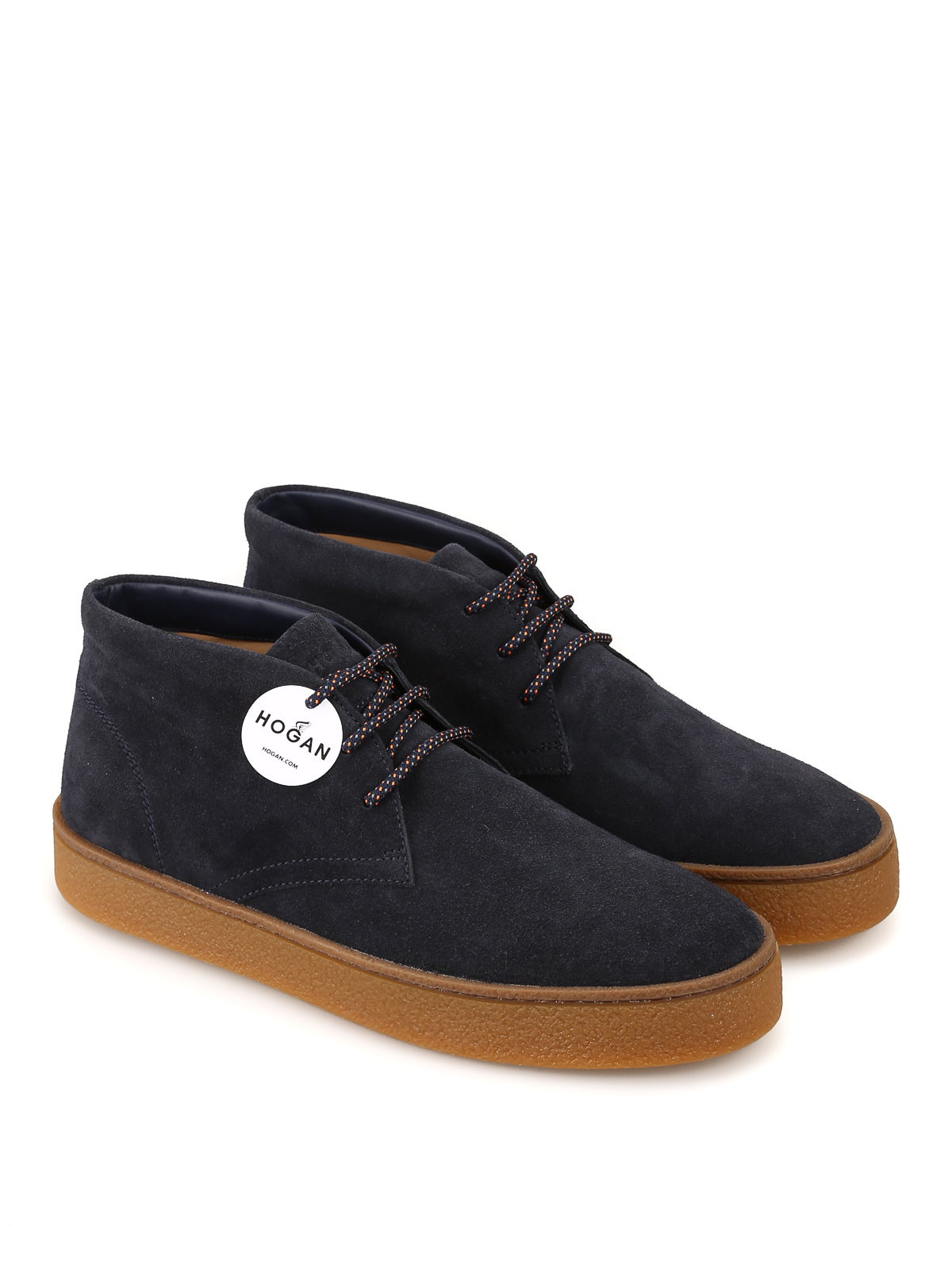 H476 Smart mid cut Derby lace-ups HOGAN | 12 | HXM4760CD40HG0U805