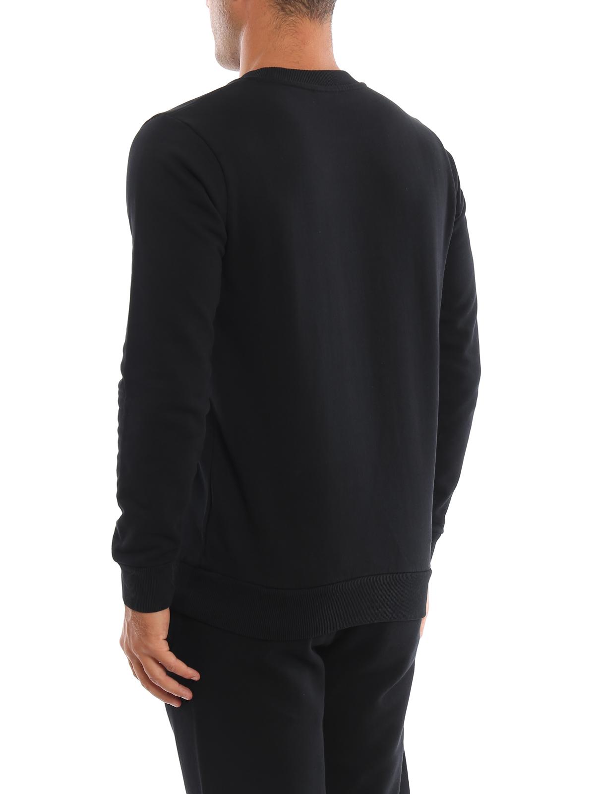 Wings patch black sweatshirt MARCELO BURLON | -108764232 | CMBA009F195060021088
