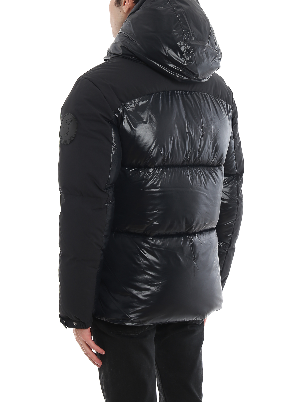 Maxi logo patch water-resistant puffer jacket SAVE THE DUCK | -276790253 | D3790ULUMA900001