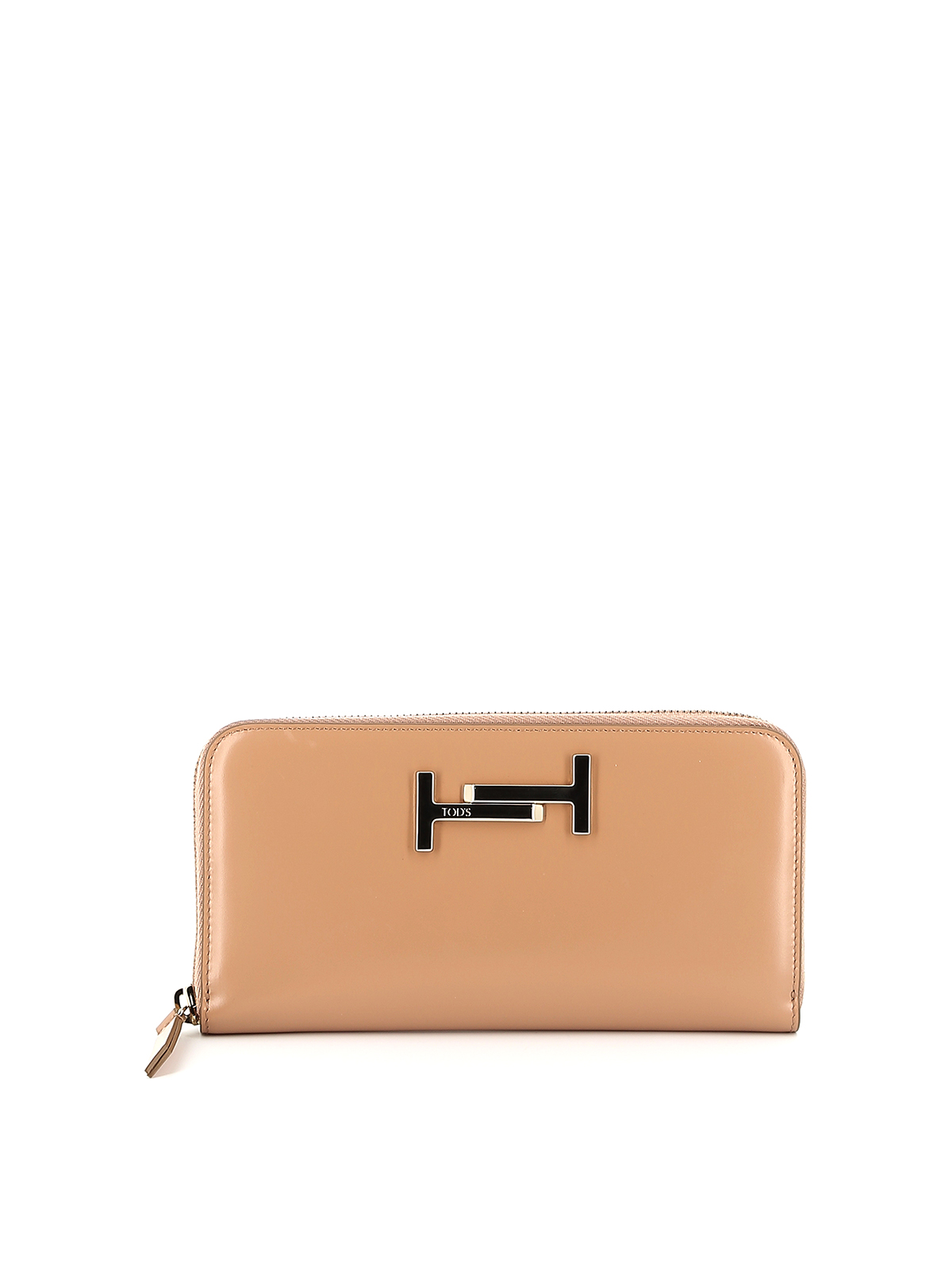 Double T leather wallet TOD