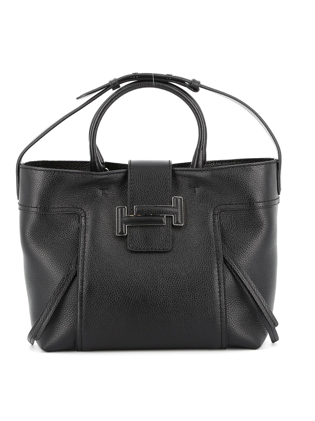 Double T medium shopping bag TOD