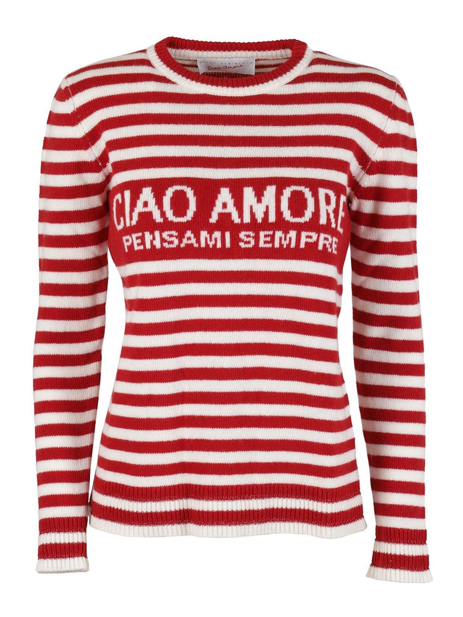 CIAO AMORE WOOL SWEATER IN RED GIADA BENINCASA | -1384759495 | F0501CWCW1