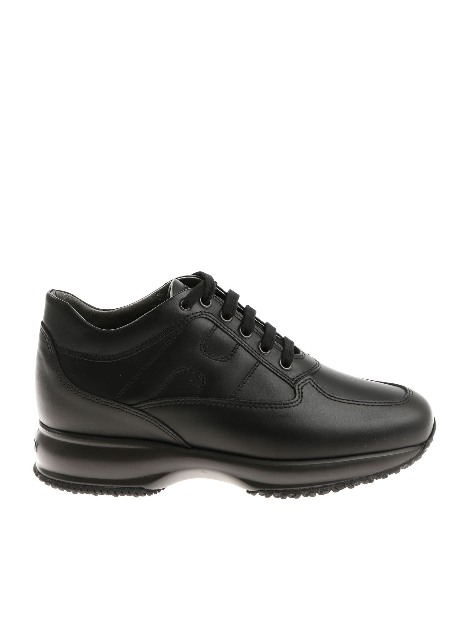 INTERACTIVE SNEAKERS IN BLACK HOGAN | 120000001 | HXW00N00010HQKB999