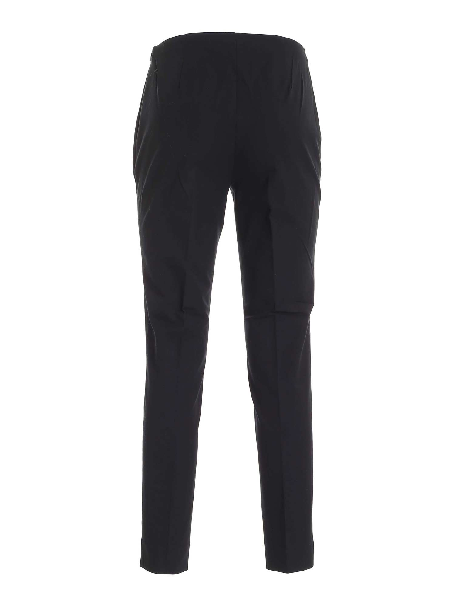 SLIM FIT BLACK PANTS WITH VENTS POLO RALPH LAUREN | 20000005 | 211782173001