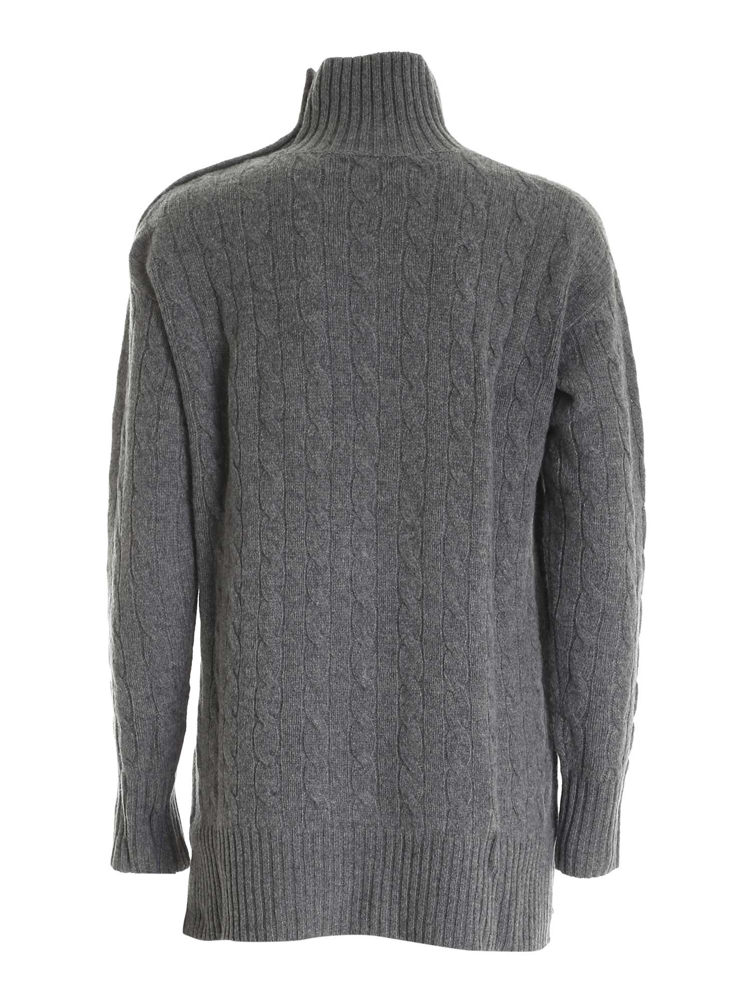 KNITTED TURTLENECK IN GREY POLO RALPH LAUREN | 10000016 | 211814567003