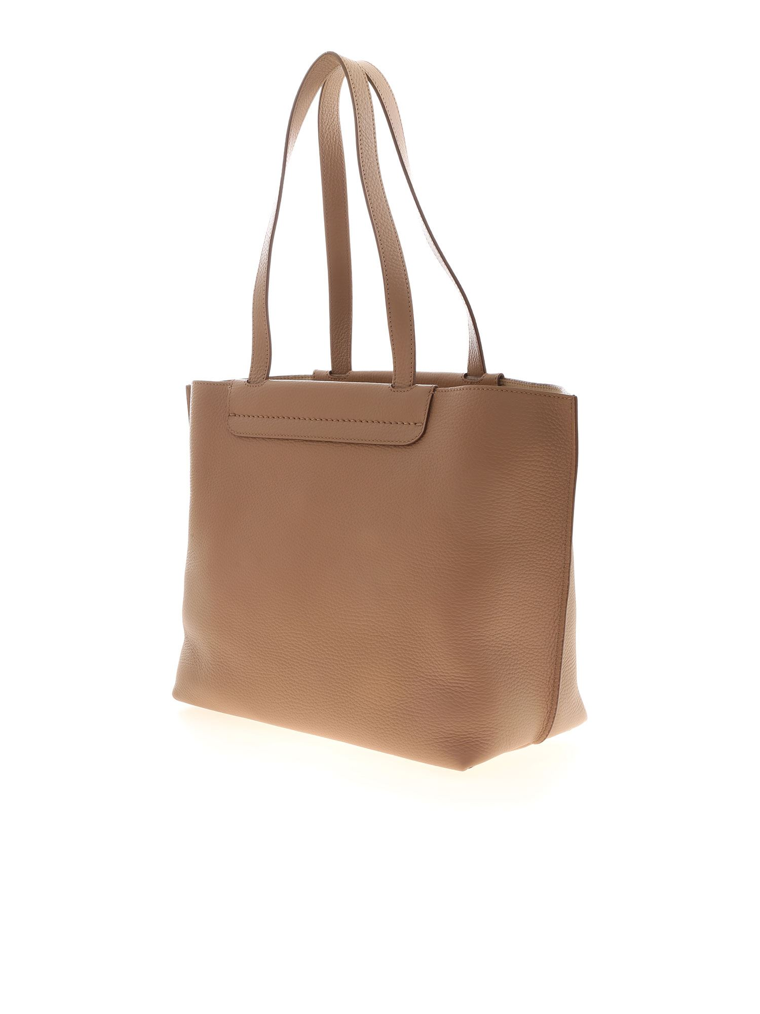 MEDIUM SHOPPER BAG IN BEIGE TOD