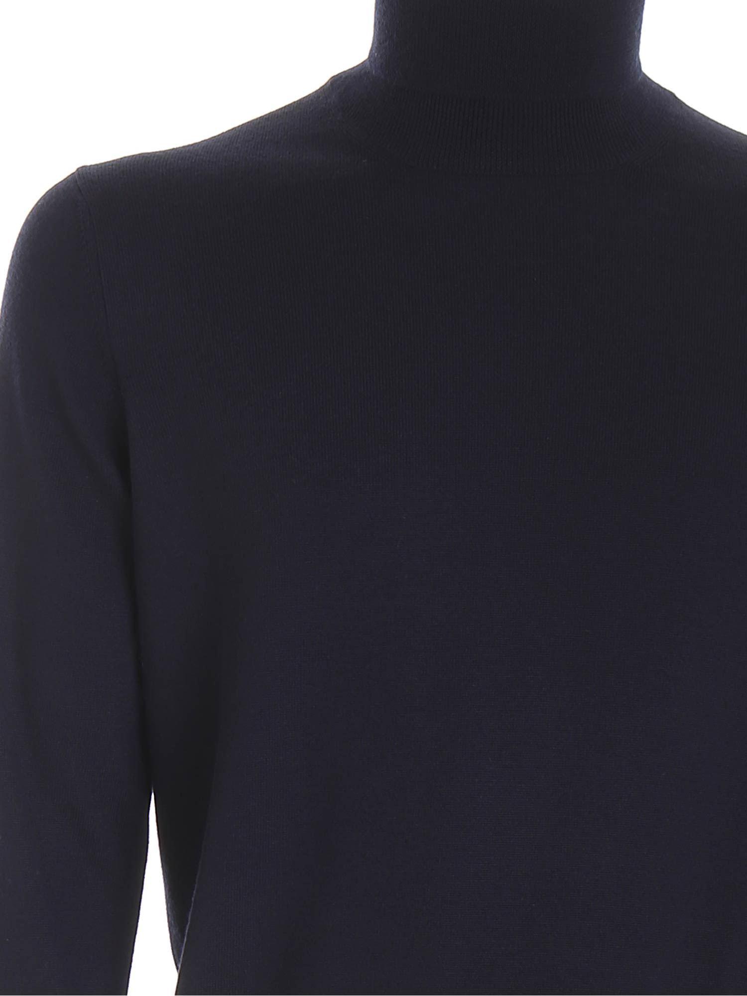 WOOL TURTLENECK IN BLUE PAOLO FIORILLO CAPRI | 10000016 | 5515714290598