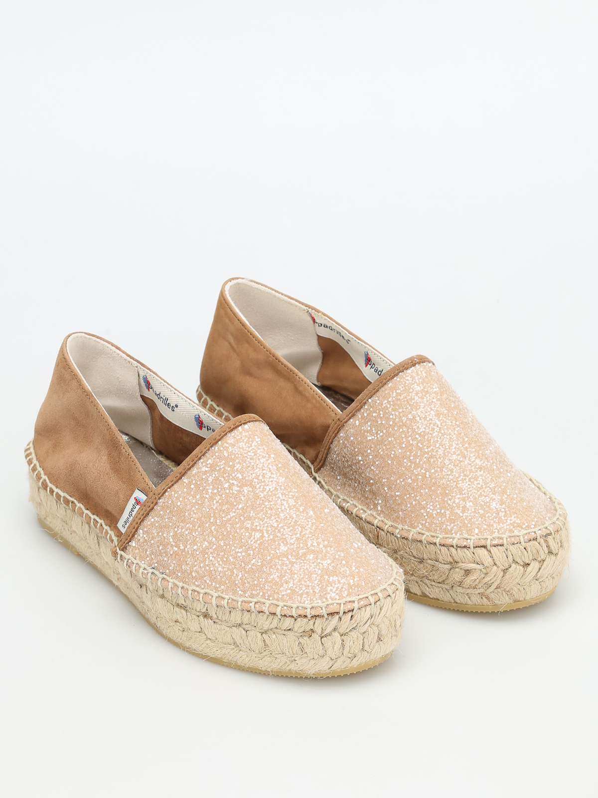 585716a07b7 Tommy sparkling suede espadrilles - ESPADRILLES - Paolo Fiorillo