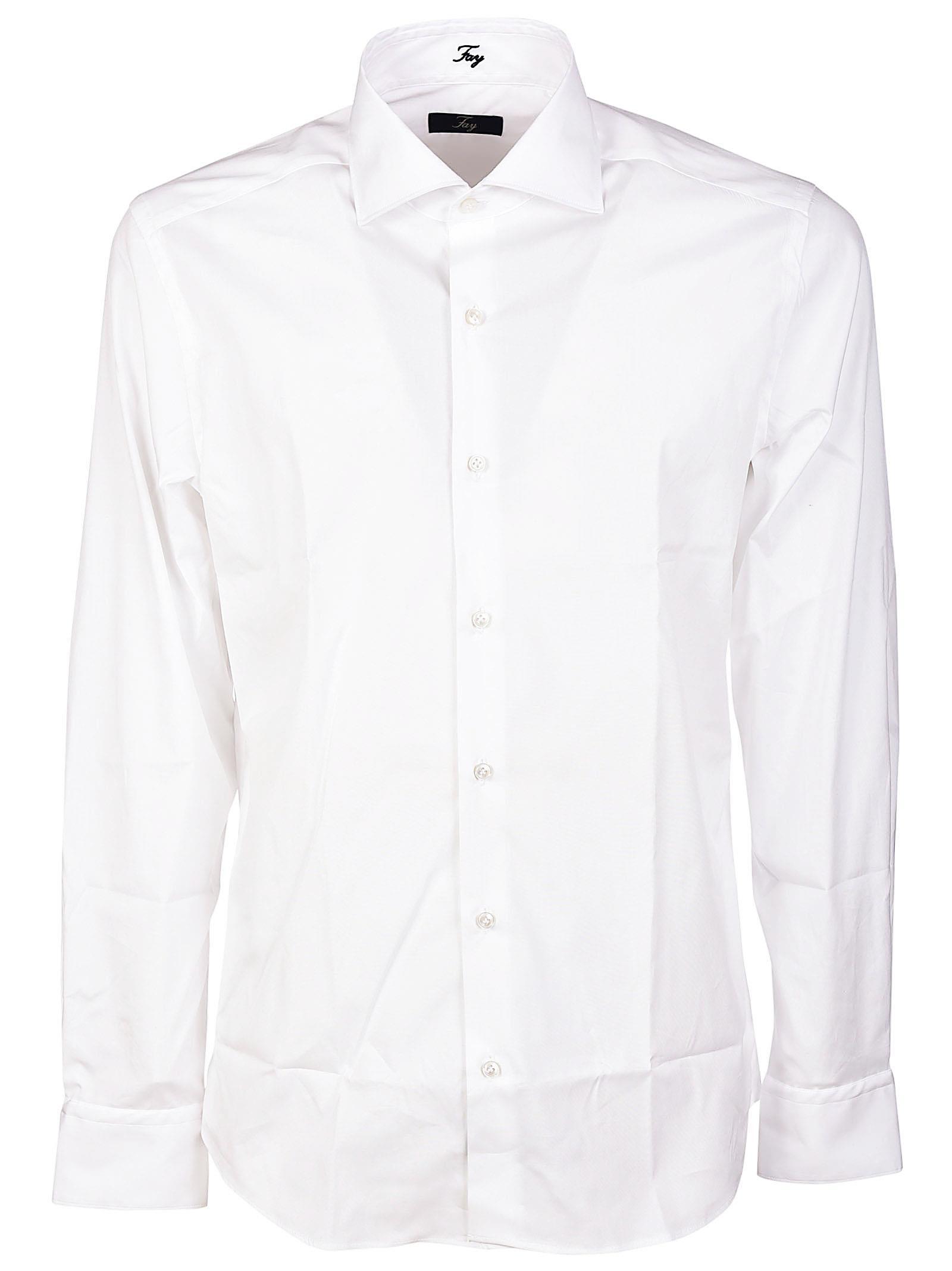 Camicia bianca classica in cotone