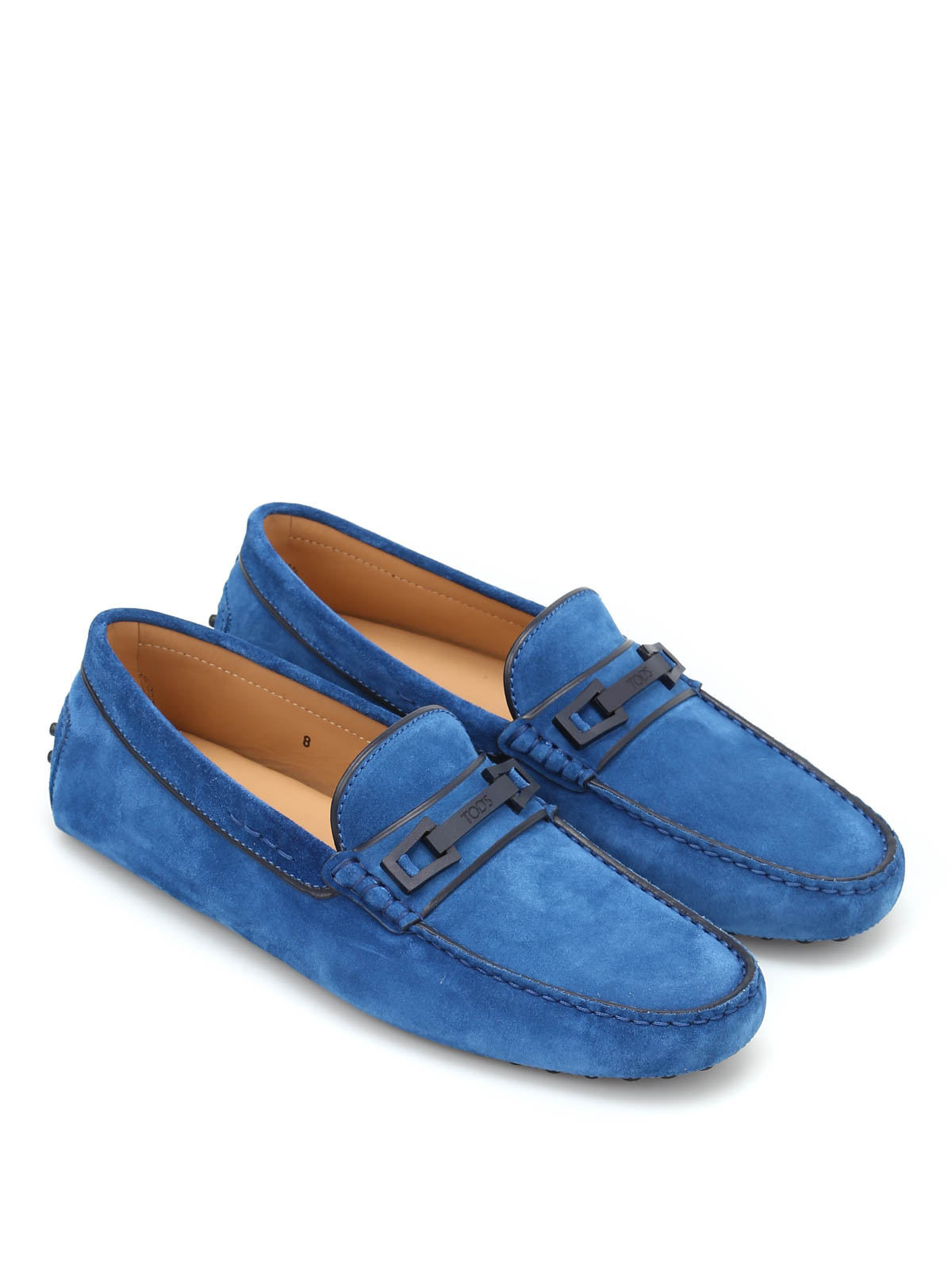 Macro Clamp Country suede loafers